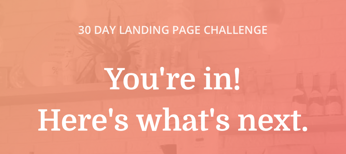 My Plan to Win the ConvertKit Landing Page Challenge
